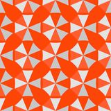 Art abstract geometry seamless pattern colour geometric graphic texture. Background vector illustration. Fabric decoration orange ornament modern triangle Stock Photo