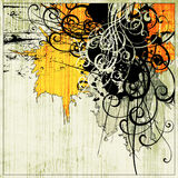 Art abstract graphic background. Art abstract grunge graphic background Stock Images