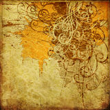 Art abstract grunge background. Art abstract grunge graphic background Royalty Free Stock Photography