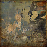 Art abstract grunge graphic background Stock Image