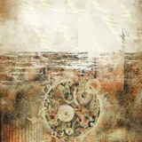 Art abstract grunge paper background stock photography