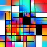 Art Abstract moderne illustration de vecteur