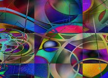Art Abstract moderne illustration stock