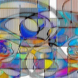 Art Abstract moderne Photo libre de droits