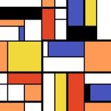 Art Abstract moderno Stock de ilustración