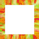 Art abstract oil drawing frame background Stock Photography