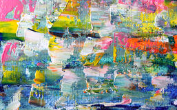 Art abstract paint. With acrylic colors Stock Image