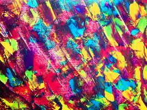 Art abstract paint with acrylic colors Stock Photo