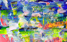 Art abstract paint Stock Images