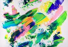 Art abstract paint Stock Photo