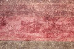 Art abstrait de peinture : Couleurs beiges et noires Images libres de droits