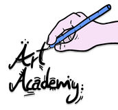 Art academy Royalty Free Stock Photos