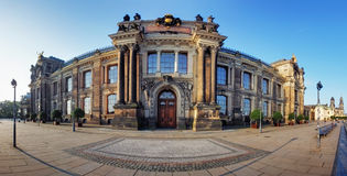 Art academy in Dresden, Germany Royalty Free Stock Photos