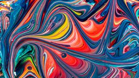 Art of acrylic color painting. Abstract background stock images