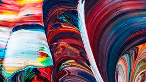 Art of acrylic color painting. Abstract background royalty free stock photo