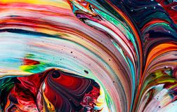 Art of acrylic color painting. Abstract background stock photo