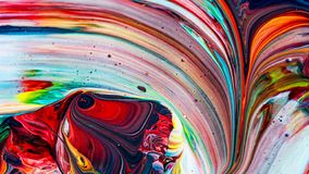 Art of acrylic color painting. Abstract background stock image