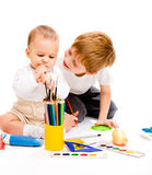 Art activity Royalty Free Stock Image