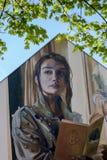 Art allemand de rue - Bayreuth Images libres de droits