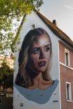 Art allemand de rue - Bayreuth Photo libre de droits