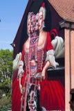 Art allemand de rue de Wilhelmine- - Bayreuth Photographie stock libre de droits