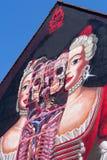Art allemand de rue de Wilhelmine- - Bayreuth Image libre de droits