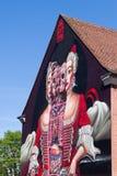 Art allemand de rue de Wilhelmine- - Bayreuth Photos libres de droits