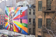 Art along the High Line Royalty Free Stock Photos