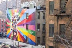 Art along the High Line Royalty Free Stock Photos