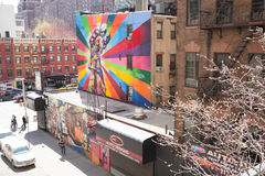 Art Along the High Line Royalty Free Stock Images