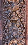 art of ancient Hindu god stone Cambodia. Ancient Khme Royalty Free Stock Photos
