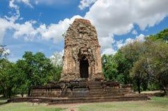 Art ancient of thawarawadee kingdom Royalty Free Stock Photo