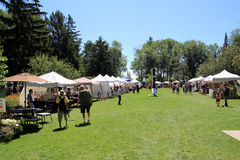 Free Art And Craft Exhibition In The Park Royalty Free Stock Image - 32581386