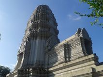 Art ang-gor of Khmer background Royalty Free Stock Photos