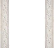 Art architectural white frame molding Stock Photos