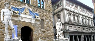 Art and architecture of Florence Royalty Free Stock Image