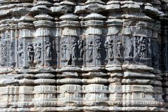 Art of arthuna temple. Stock Photos