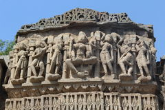 Art of Arthuna temple Stock Photography