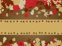 Art autumn vintage background. EPS 8 Royalty Free Stock Images