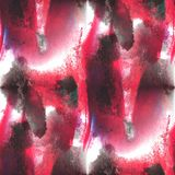 Art avant-garde hand red, black paint background Royalty Free Stock Photo