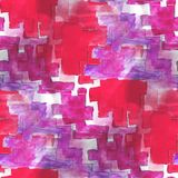 Art avant-garde red, purple background hand paint Stock Photography