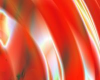 art b blue generative hollow red spheres Στοκ εικόνα με δικαίωμα ελεύθερης χρήσης