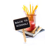 Art Back to school background Royalty Free Stock Photo