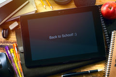 Art Back to school background Stock Photos