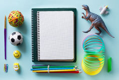 Art Back to school background Stock Photo