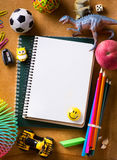 Art Back to school background Royalty Free Stock Photography