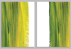 Art background business cards. Stroke of the paint brush. Royalty Free Stock Photo