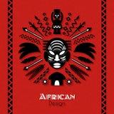 Art Background ethnique tribal africain Illustration de Vecteur