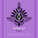 Art Background ethnique tribal africain Photos stock