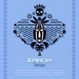 Art Background ethnique tribal africain Images libres de droits